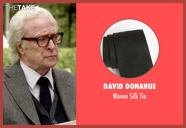 David Donahue black tie from Youth seen with Michael Caine (Fred Ballinger)