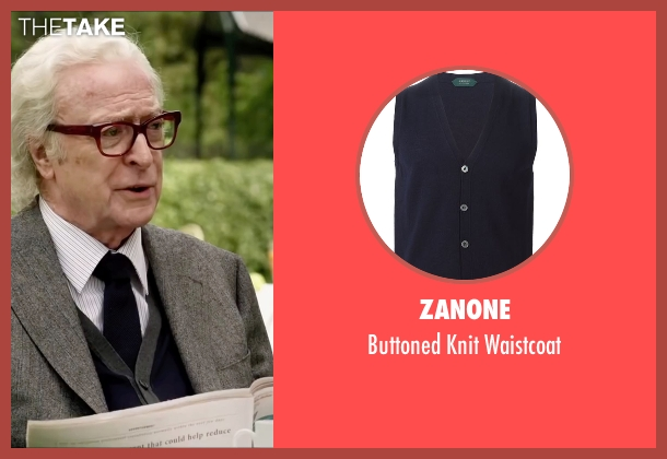 Zanone blue waistcoat from Youth seen with Michael Caine (Fred Ballinger)