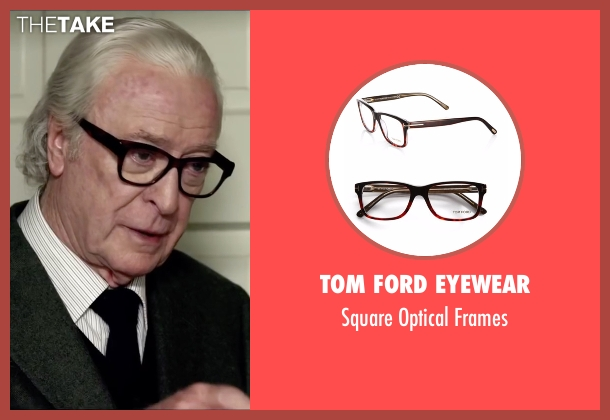Tom Ford Eyewear brown frames from Youth seen with Michael Caine (Fred Ballinger)