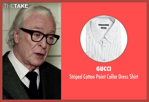 Gucci white shirt from Youth seen with Michael Caine (Fred Ballinger)