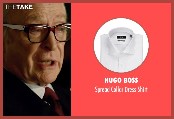 Hugo Boss white shirt from Youth seen with Michael Caine (Fred Ballinger)