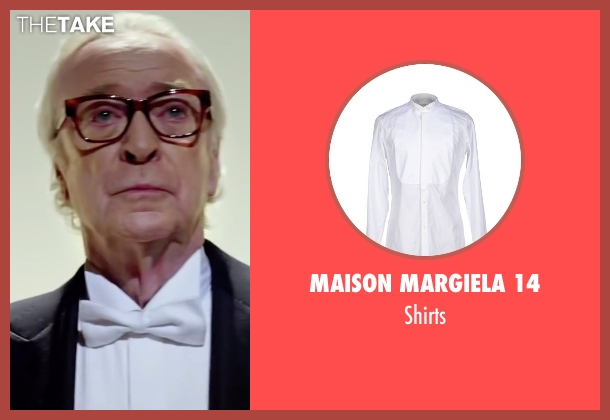 Maison Margiela 14 white shirts from Youth seen with Michael Caine (Fred Ballinger)