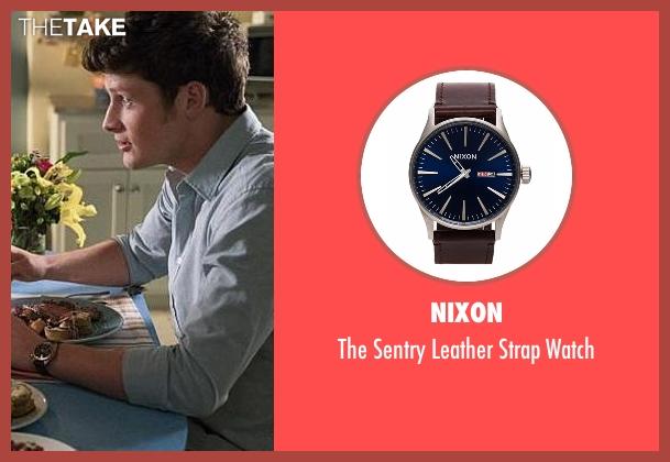 Nixon brown watch from Jane the Virgin seen with Michael Cordero Jr. (Brett Dier)
