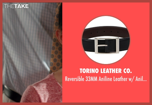 Torino Leather Co. black leather from And So It Goes seen with Michael Douglas (Oren Little)