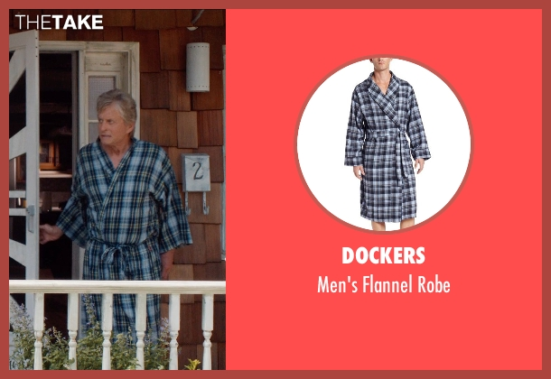Dockers blue robe from And So It Goes seen with Michael Douglas (Oren Little)