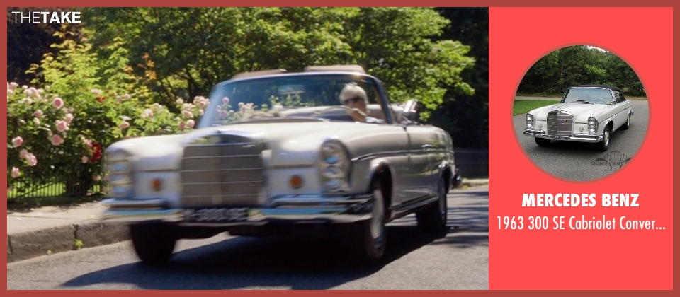Mercedes Benz car from And So It Goes seen with Michael Douglas (Oren Little)