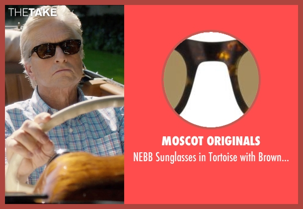 Moscot Originals lenses from And So It Goes seen with Michael Douglas (Oren Little)