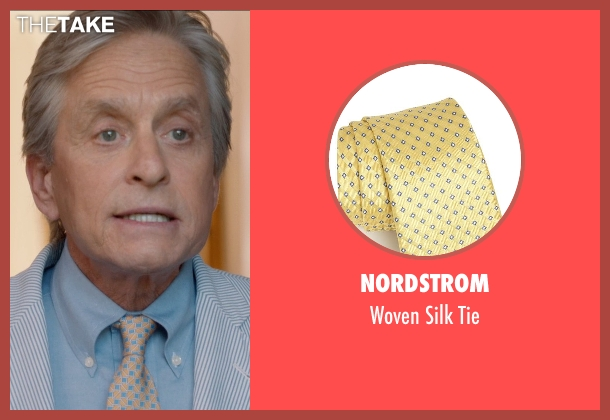 Nordstrom tie from And So It Goes seen with Michael Douglas (Oren Little)