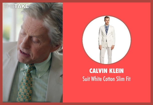 Calvin Klein white fit from And So It Goes seen with Michael Douglas (Oren Little)