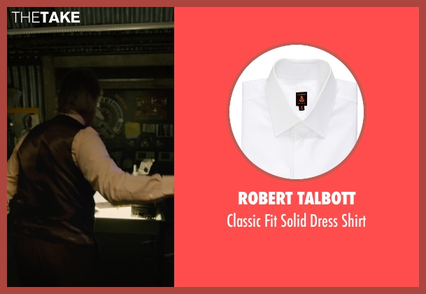 Robert Talbott white shirt from Ant-Man seen with Michael Douglas (Hank Pym)