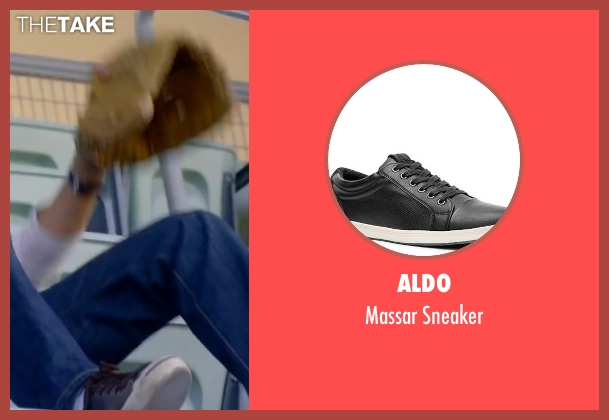 Aldo black sneaker from About Last Night seen with Michael Ealy