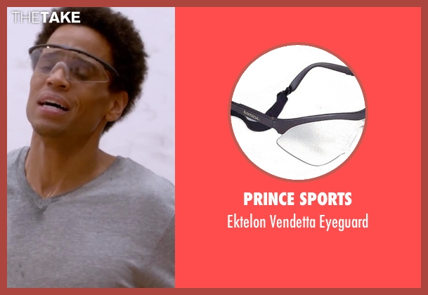 Prince Sports eyeguard from About Last Night seen with Michael Ealy