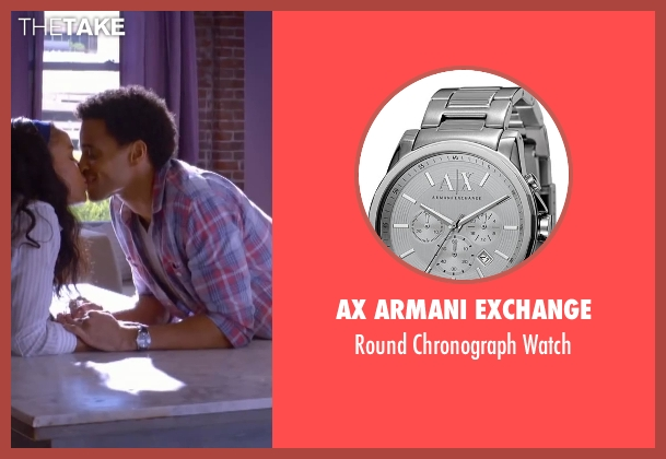 AX Armani Exchange watch from About Last Night seen with Michael Ealy