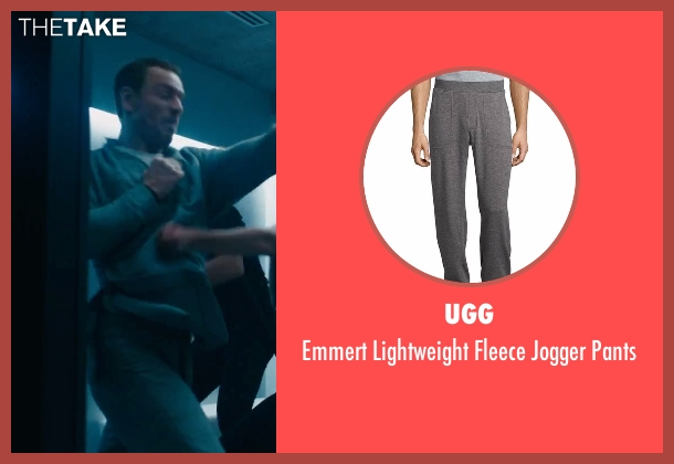 UGG gray pants from Assassin's Creed seen with Michael Fassbender (Callum Lynch / Aguilar)