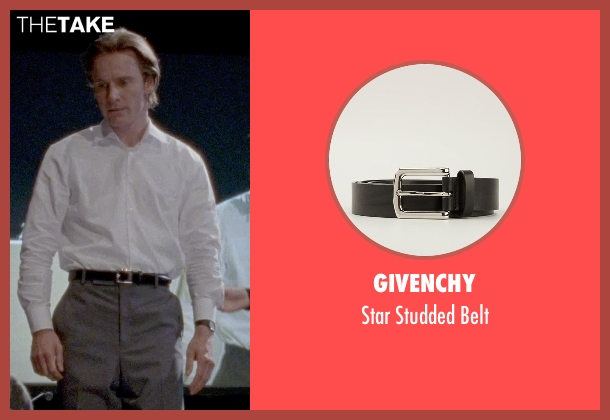 Givenchy black belt from Steve Jobs seen with Michael Fassbender (Steve Jobs)
