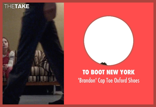 To Boot New York black shoes from Steve Jobs seen with Michael Fassbender (Steve Jobs)
