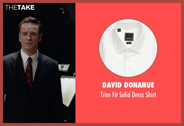 David Donahue white shirt from Steve Jobs seen with Michael Fassbender (Steve Jobs)