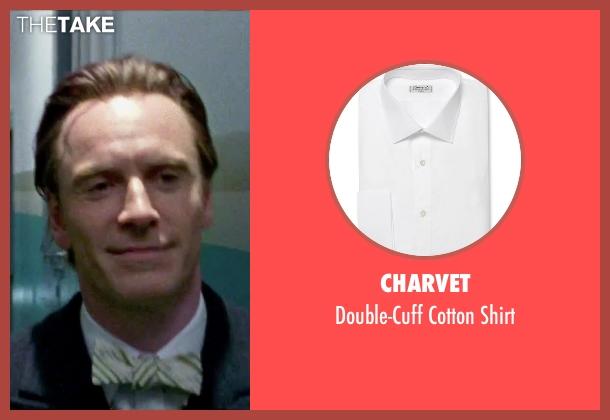 Charvet white shirt from Steve Jobs seen with Michael Fassbender (Steve Jobs)