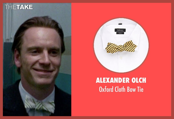 Alexander Olch yellow tie from Steve Jobs seen with Michael Fassbender (Steve Jobs)