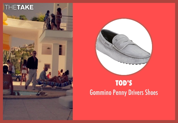 Tod's gray shoes from The Counselor seen with Michael Fassbender (Counselor)