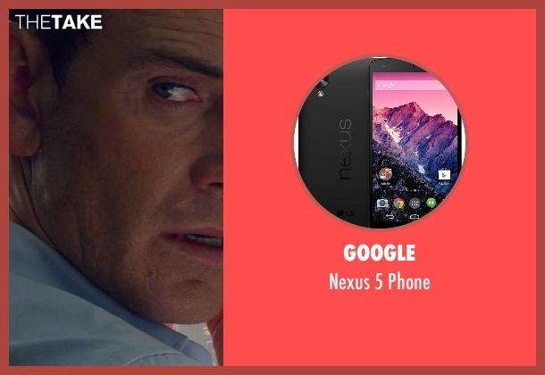 Google phone from The Counselor seen with Michael Fassbender (Counselor)