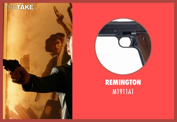 Remington m1911a1 from X-Men: Days of Future Past seen with Michael Fassbender (Erik Lehnsherr / Magneto)