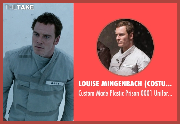Louise Mingenbach (Costume Desinger) uniform from X-Men: Days of Future Past seen with Michael Fassbender (Erik Lehnsherr / Magneto)