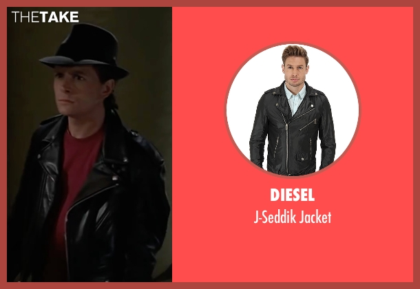 Diesel black jacket from Back To The Future Part II seen with Michael J. Fox (Marty McFly)