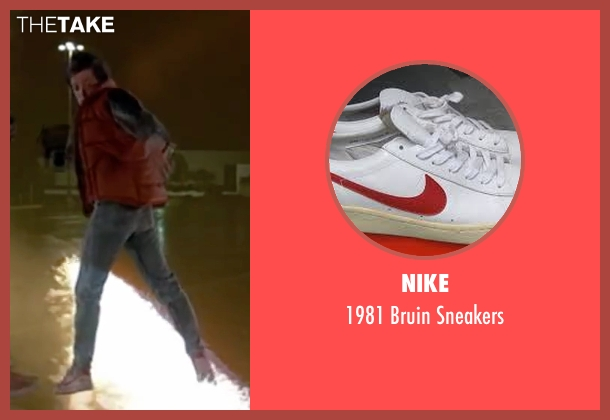 Nike white sneakers from Back To The Future Part II seen with Michael J. Fox (Marty McFly)