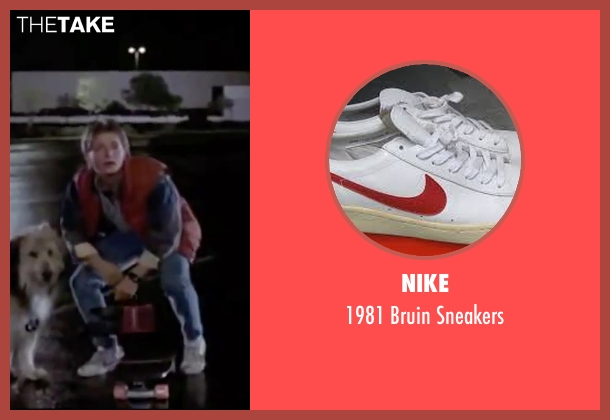 Nike white sneakers from Back To The Future seen with Michael J. Fox (Marty McFly)