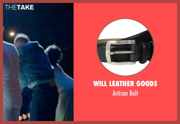 Will Leather Goods black belt from Birdman seen with Michael Keaton (Riggan)