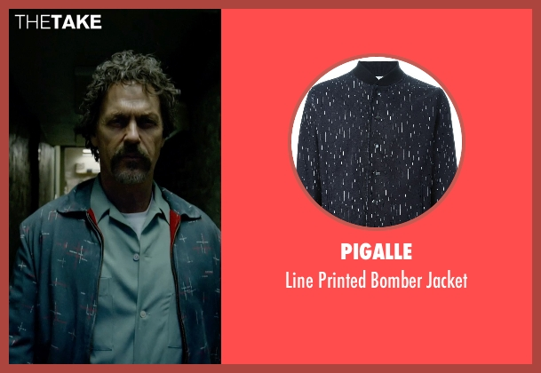 Pigalle black jacket from Birdman seen with Michael Keaton (Riggan)