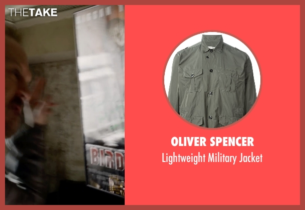 Oliver Spencer brown jacket from Birdman seen with Michael Keaton (Riggan)