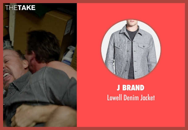 J Brand jacket from Birdman seen with Michael Keaton (Riggan)