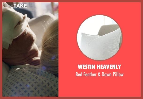 Westin Heavenly pillow from Birdman seen with Michael Keaton (Riggan)