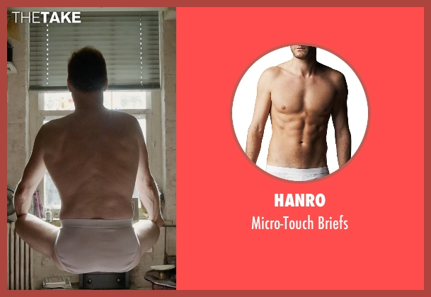 Hanro	 white briefs from Birdman seen with Michael Keaton (Riggan)
