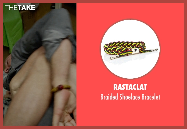Rastaclat yellow bracelet from Birdman seen with Michael Keaton (Riggan)