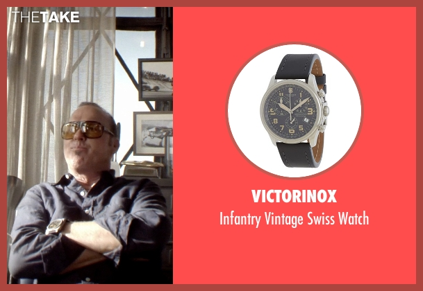 Victorinox black watch from Need for Speed seen with Michael Keaton (Monarch)