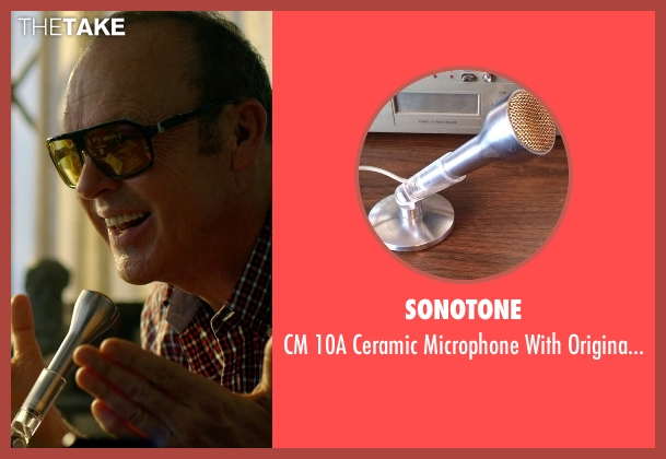 Sonotone mic from Need for Speed seen with Michael Keaton (Monarch)