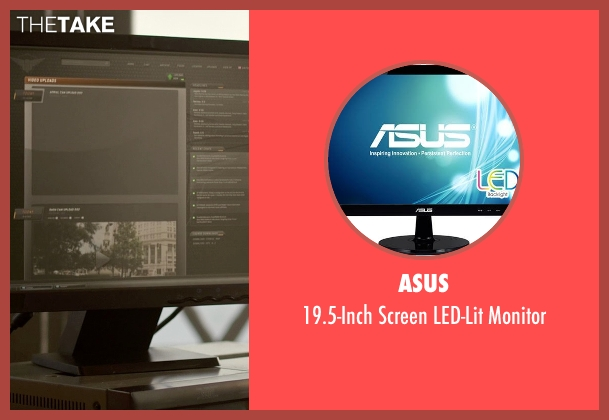 Asus monitor from Need for Speed seen with Michael Keaton (Monarch)