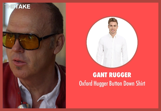 Gant Rugger white shirt from Need for Speed seen with Michael Keaton (Monarch)