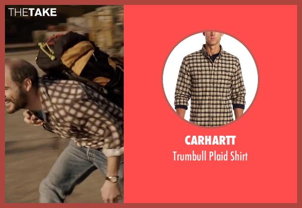 Carhartt beige shirt from Everest seen with Michael Kelly (Jon Krakauer)