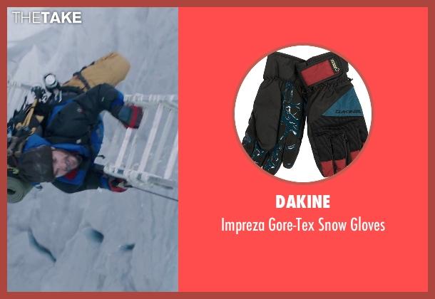 DaKine red gloves from Everest seen with Michael Kelly (Jon Krakauer)