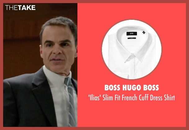 Boss Hugo Boss white shirt from Secret in Their Eyes seen with Michael Kelly (Siefert)