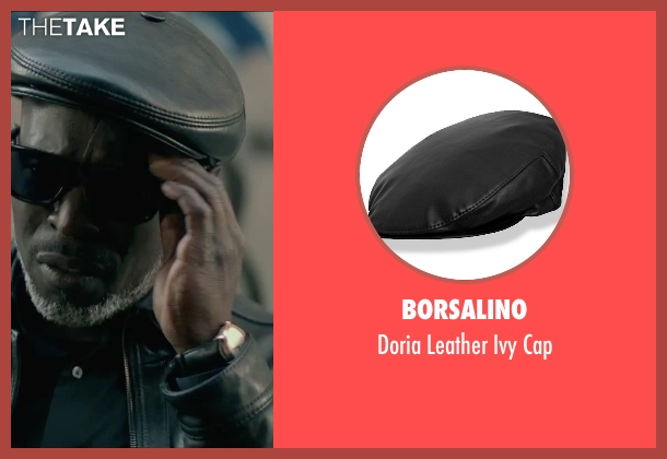 Borsalino black cap from The Gambler seen with Michael Kenneth Williams (Neville)