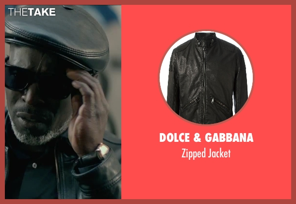 Dolce & Gabbana black jacket from The Gambler seen with Michael Kenneth Williams (Neville)