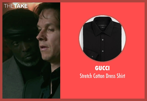 Gucci black shirt from The Gambler seen with Michael Kenneth Williams (Neville)
