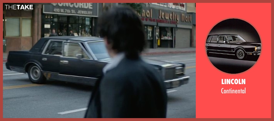 Lincoln continental from The Gambler seen with Michael Kenneth Williams (Neville)