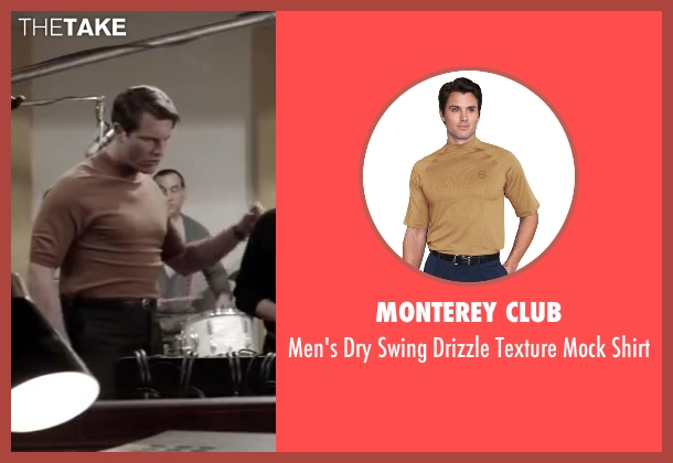Monterey Club brown shirt from Jersey Boys seen with Michael Lomenda (Nick Massi)