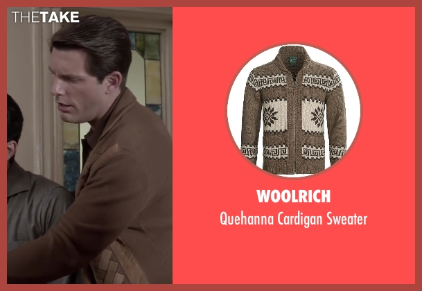 Woolrich brown sweater from Jersey Boys seen with Michael Lomenda (Nick Massi)